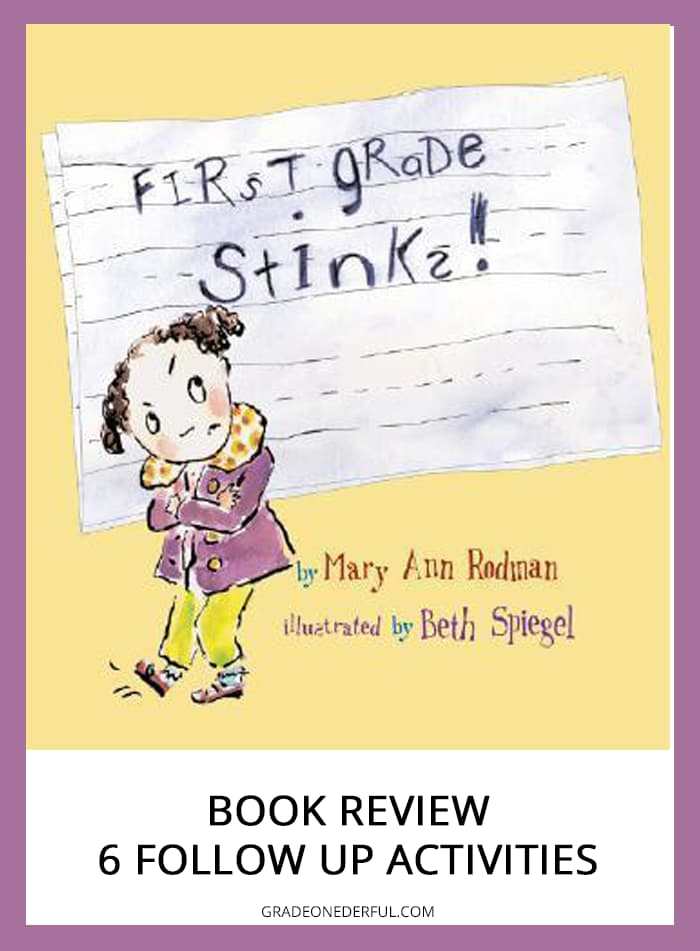First Grade Stinks book review