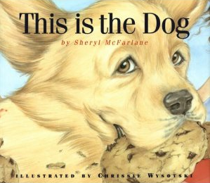 This is the Dog. Fun book for young children. Book review plus related activities. #booksforkids #dogs #dogbooks #gradeonederful