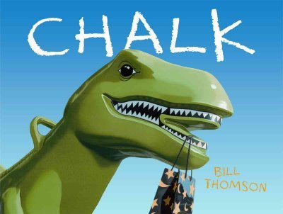 Book Review of Chalk by Bill Thomson. Includes some follow up activities. #booksforkids #chalk #gradeonederful