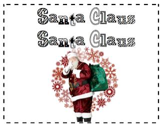 Santa Claus book freebie