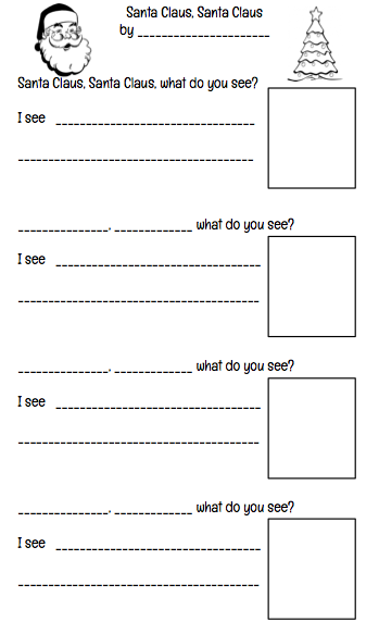 FREE Christmas Writing Template. Perfect for Grades K-2. Lots more Christmas in the classroom ideas included.