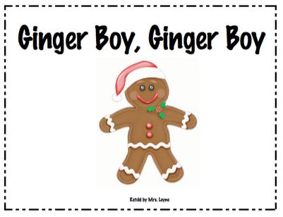 Ginger Boy book freebie
