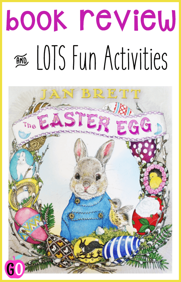 The Easter Egg by Jan Brett. Book Review and freebie activities. The Easter Egg is a sweet story about generosity, bravery and selflessness. Includes LOTS of freebies.