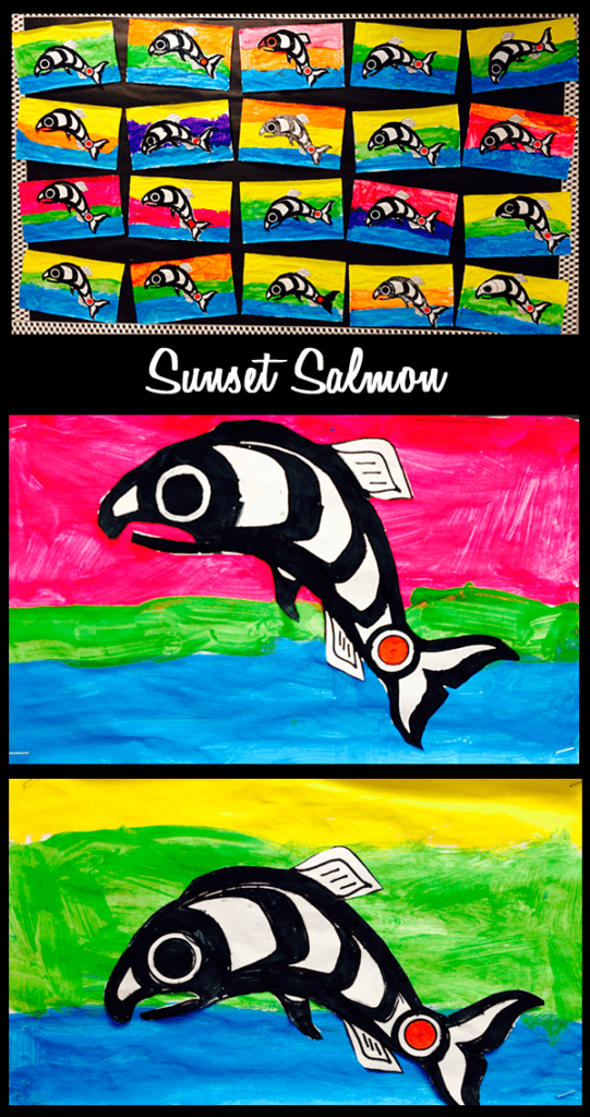 Lots of Ideas for a Salmon Unit