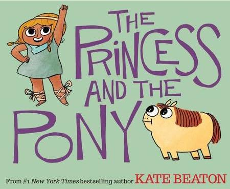 Book review of Kate Beaton's The Princess and the Pony. #princessandthepony #booksforkids #gradeonederful