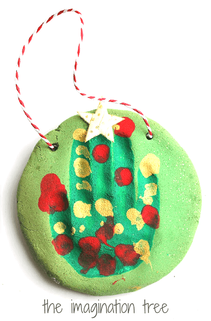 Salt dough ornament for kids to make for Christmas. Salt dough ornament gifts for kids to make for Christmas. Easy Low Prep Christmas Gifts Kids Can Make! A collection of 10 Christmas gifts for kids to make for their parents. Fast, inexpensive and relatively low prep. You're gonna love 'em!