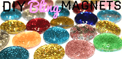 Glitter magnet gifts for kids to make for Christmas. Salt dough ornament gifts for kids to make for Christmas. Easy Low Prep Christmas Gifts Kids Can Make! A collection of 10 Christmas gifts for kids to make for their parents. Fast, inexpensive and relatively low prep. You're gonna love 'em!