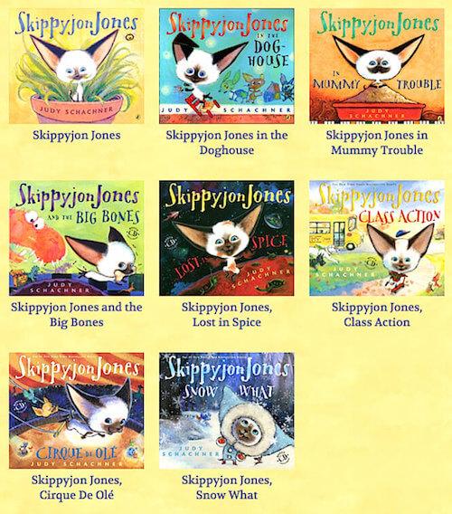 Collection of Skippyjon Jones books