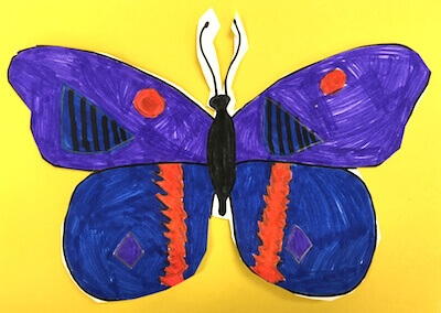 Butterflies in First Grade: Butterfly Symmetry.  GradeONEderful.com