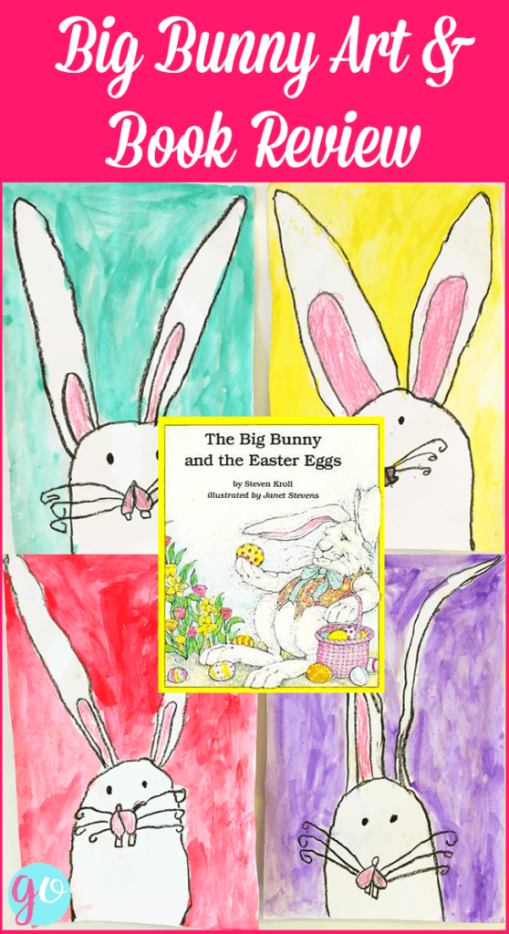 Easter Bunny Art and Book Review