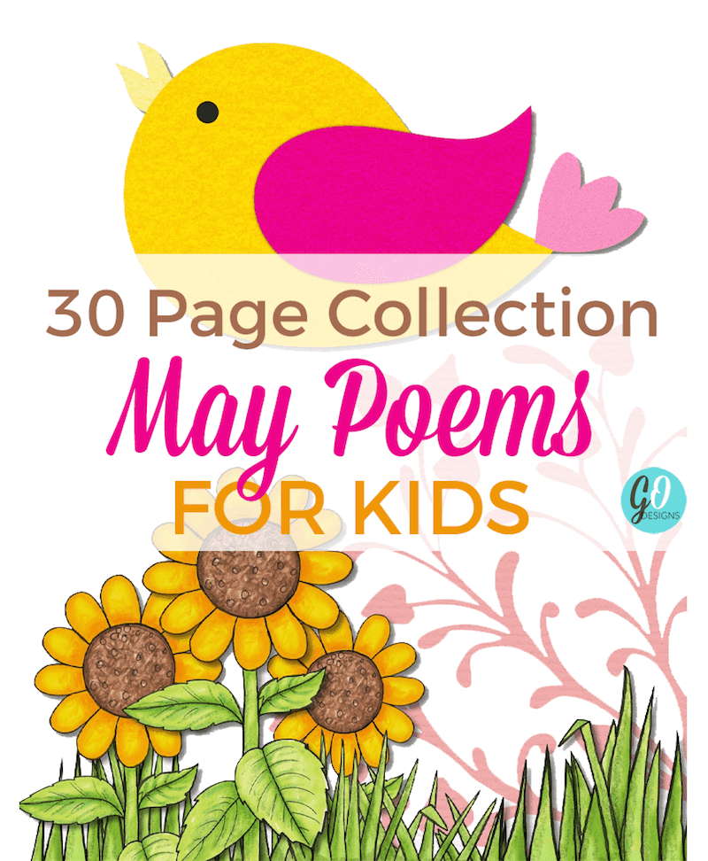30 Page Collection of May Poems for Young Children