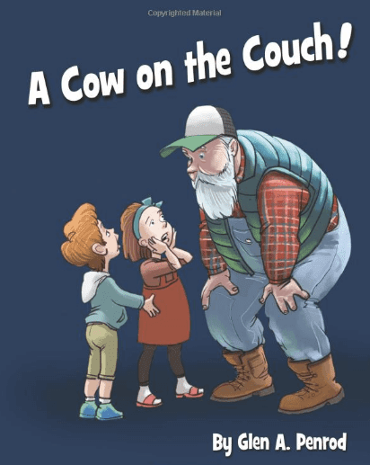 a cow on the couch book review