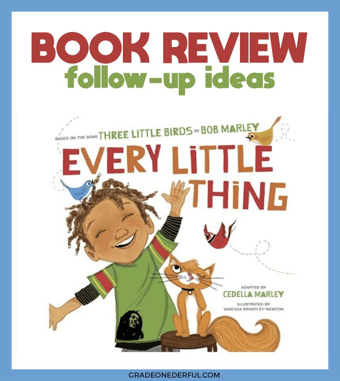 Stop Worrying: Every Little Thing Book Review and Activities