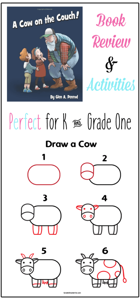 Cow on the Couch Book Review and Activities