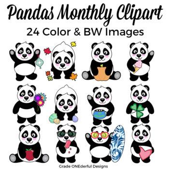 https://www.teacherspayteachers.com/Product/Panda-Bear-Clipart-for-All-Seasons-Includes-BW-1134347