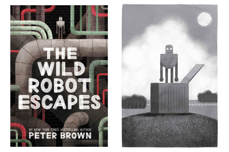 The Wild Robot Escapes by Peter Brown. Book review by Grade ONEderful