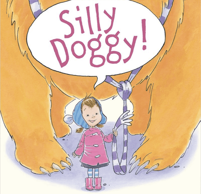 Silly Doggy Book Review and Lots of Activities. Your kids will love this sweet book. #gradeonederful #sillydoggy #bookreview #booksforkids