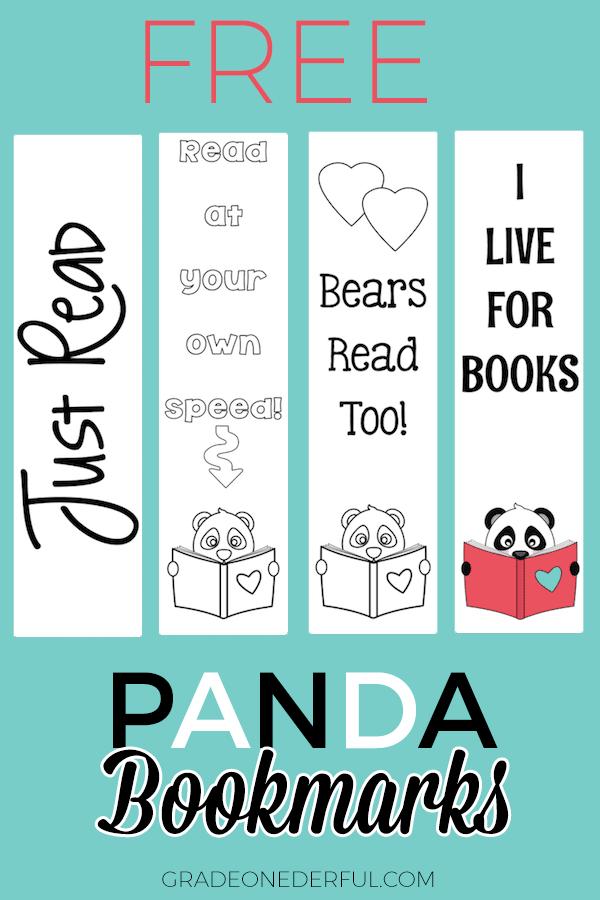 Free Panda Bookmarks