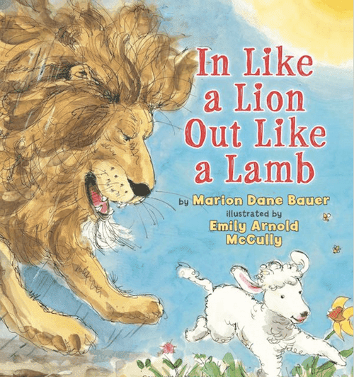 In Like a Lion Out Like a Lamb book review and activities for the primary grades
