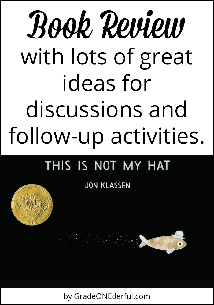This is Not My Hat: Book Review and Activities