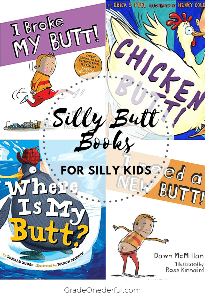 I Need a New Butt and Other Silly Butt Books