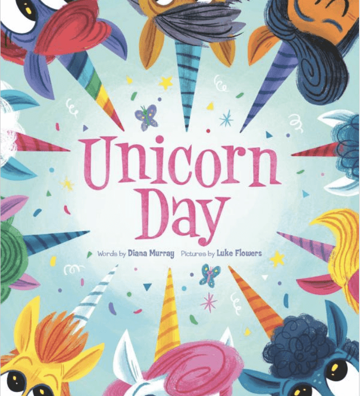 Unicorn Day: A book review. You'll love this completely adorable book about a unicorn celebration. It's all about friendship, acceptance and FUN! I've included some links for some great classroom activities, too.