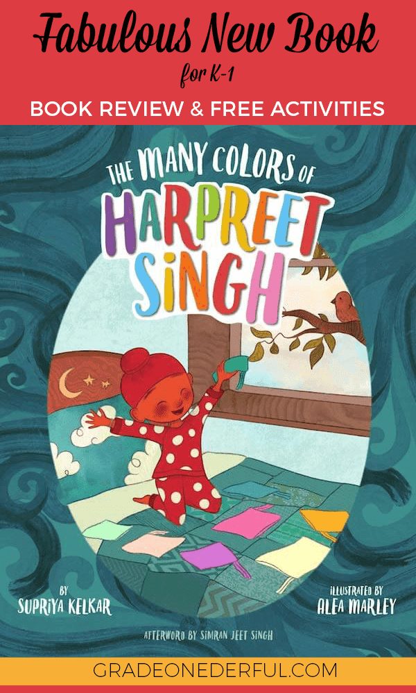 The Many Colors of Harpreet Singh: Book Review and Activities