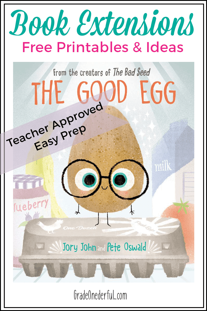 The Good Egg book is a clever and amusing look at the importance of being mindful of our own behavior, and being more accepting of others. With guidance it can be used as a self help book for kids who need some tools to manage their stress. I\'ve included several book-related activities for parents, teachers and homeschoolers.