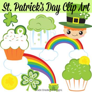 St. Patrick\'s Day digital clip art