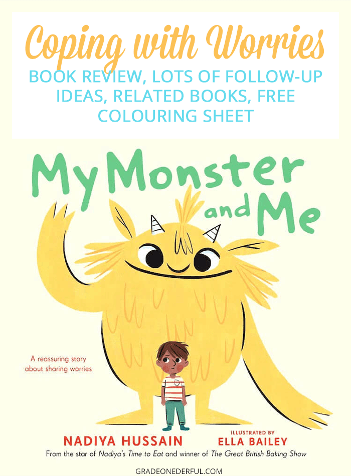 How to Help a Child Who Worries: My Monster and Me Book