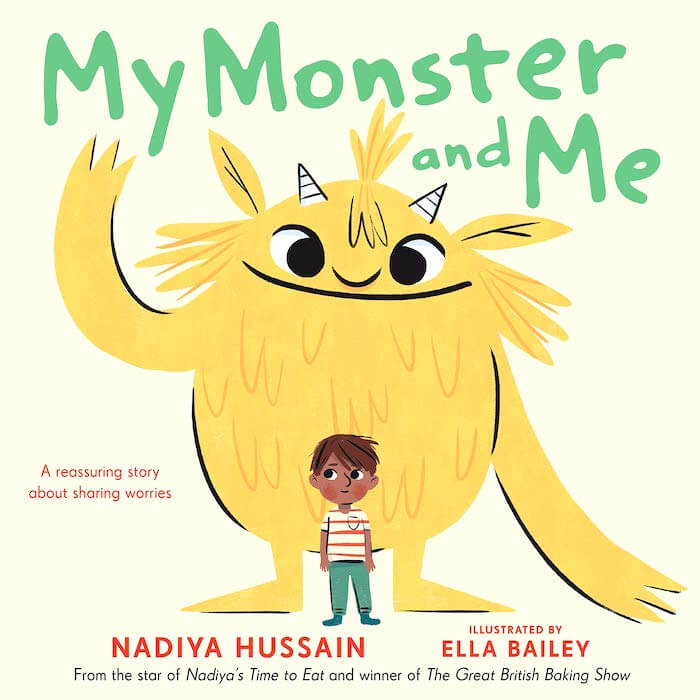 Review of My Monster and Me, a warm and light-hearted look at childhood anxiety. Includes book extension ideas, related books, colouring sheet.