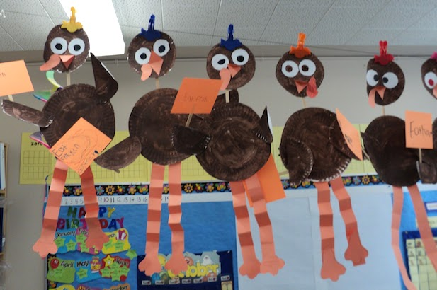 I have some Turkey fun for you! You\'ll receive the cutest turkey poem/song, directions for a long-legged turkey craft and directions for a turkey pie graph. These activities are perfect for the primary grades. The craft and graph require some prep, but they\'re easy and enjoyable for the kids!