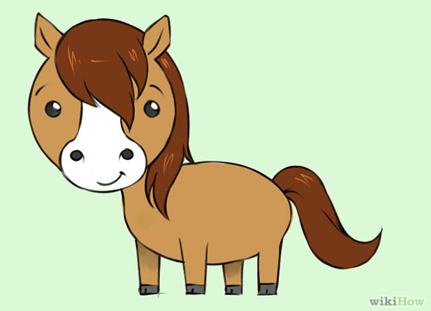Drawing a pony tutorial