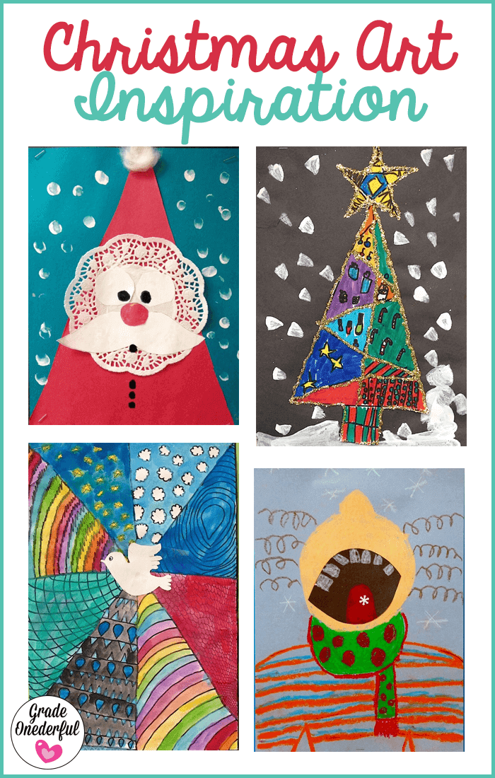 A collection of children\'s Christmas art projects for your enjoyment and inspiration!