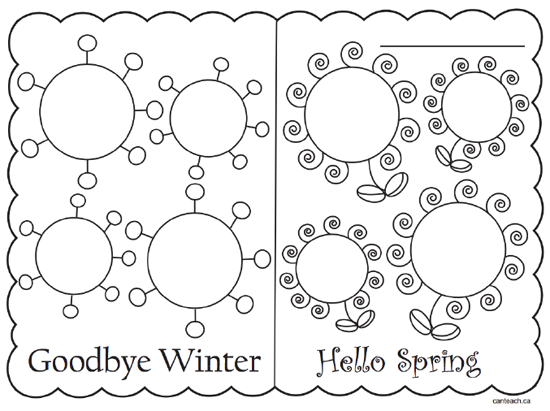 A spring poem and lots of spring activities for a first grade class. All free!