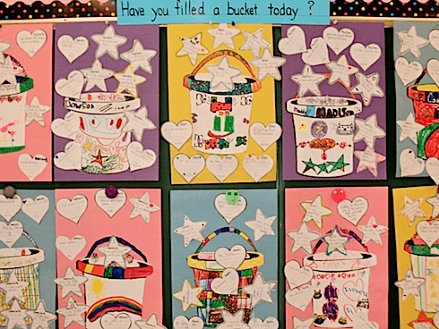 Have You Filled a Bucket Today: Book review with art work