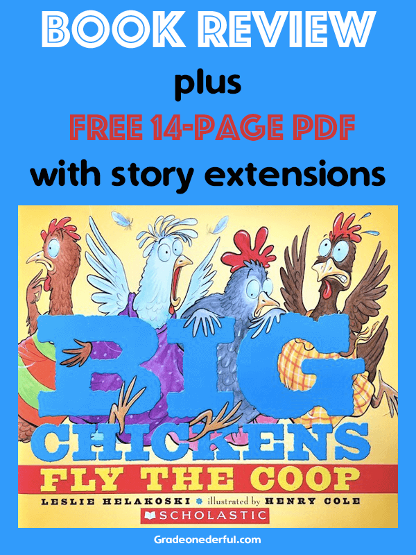 Big Chickens Fly the Coop: Free 14-Page Printables