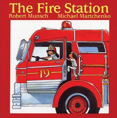 The Fire Station by Robert Munsch: Book review.