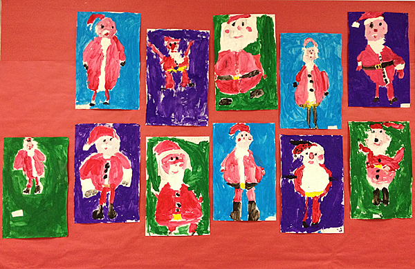 Santa art
