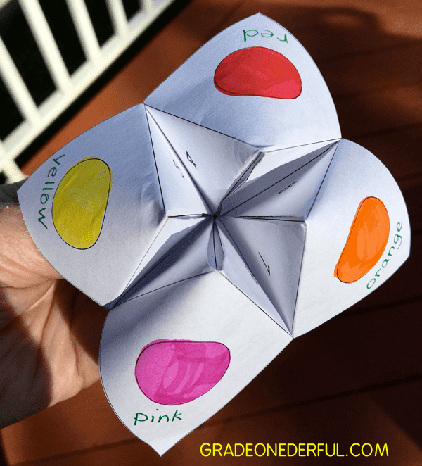 Free sight word chatterbox template. Perfect for first grade.