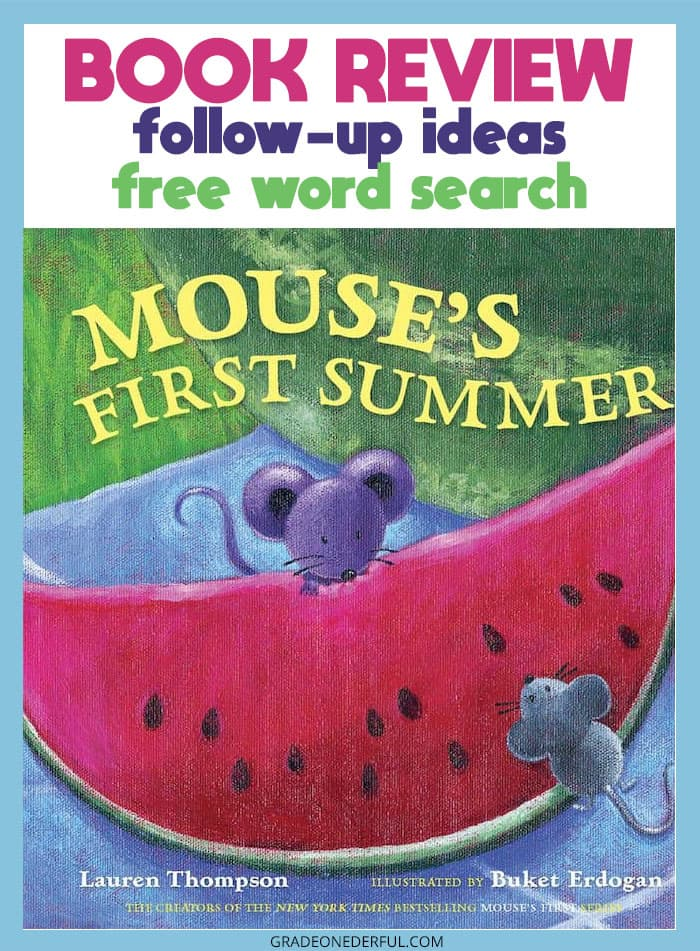 Mouse's First Summer: A Book That Will Tickle Your Senses