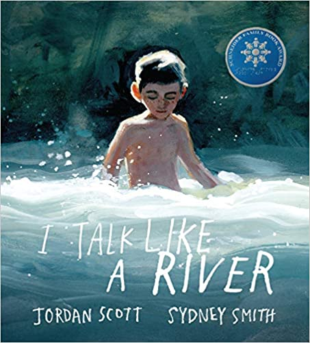 """Cover of the book """"I Talk Like a River"""""""