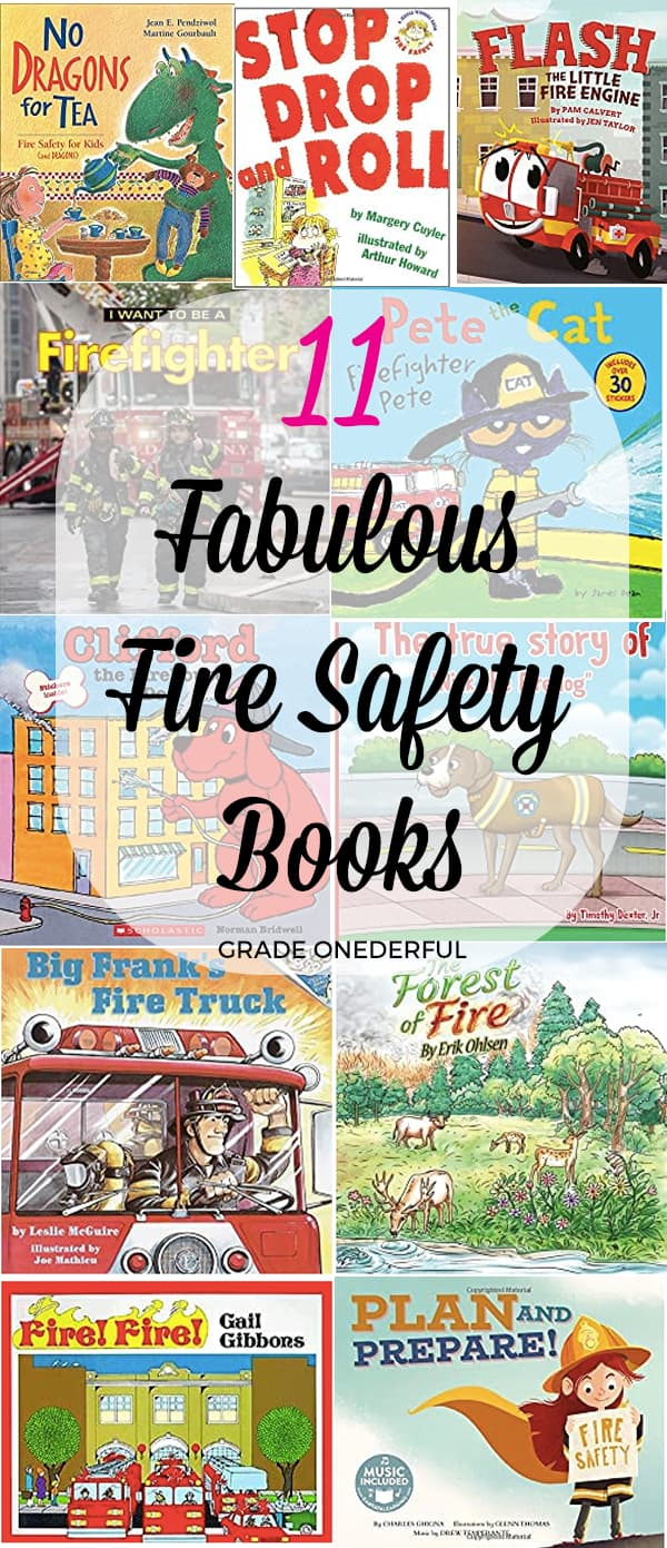 Roundup of 11 fire safety books for young children